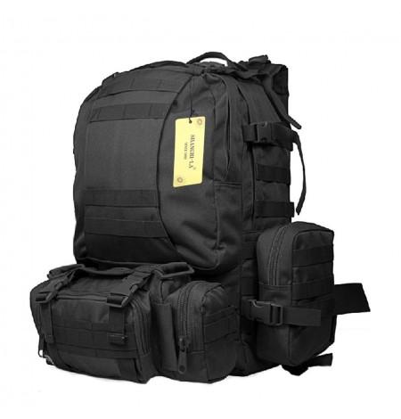Рюкзак Тактический ASSAULT Black- 3 Day (Съемные подсумки)