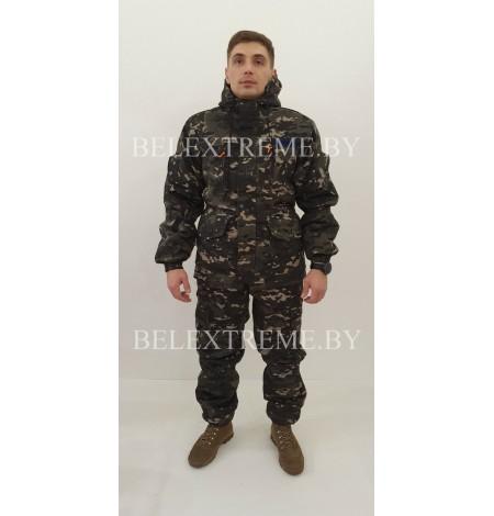 Костюм Горка 5 ЧЕРНЫЙ МУЛЬТИКАМ-2 Зима