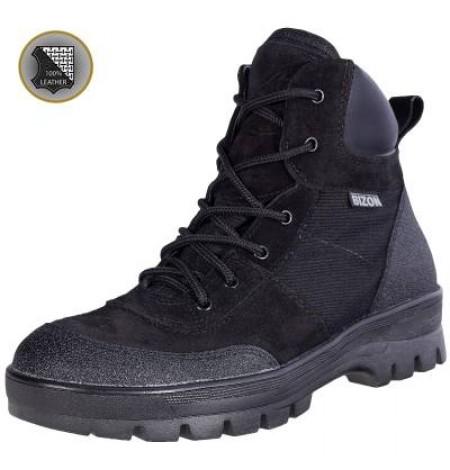 Ботинки демисезонные тактические BIZON Терек Т-013 черные